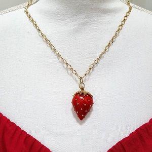 Jewelry - Strawberry Accent Pendant